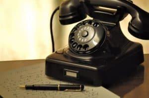 איומים בטלפון